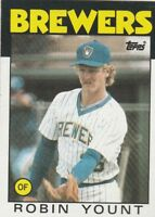 FREE SHIPPING-MINT-1986 Topps #780 Robin Yount Milwaukee Brewers