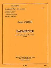 Farniente saxophone alto ou baryton mib et piano (lm007)