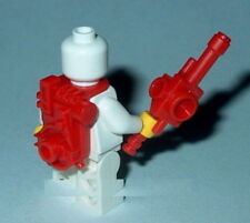 Accessory Minifigure untensil Ghostbusters- Proton Pack & Partical Gun New Red