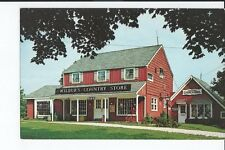 wilbur's country store, near newton, newton, new jersey  Postcard