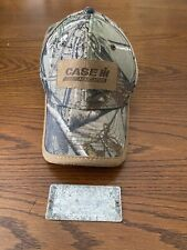 Case Ih Realtree Hat & Old Ih Alumumin Id Tag Off Of Old Ih Equipment