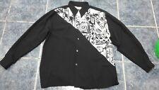 Men formal black shirt size 4 by Gicco Van Damm