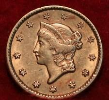 1851 Type I Philadelphia Mint Gold $1 Coin