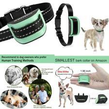 Masbrill Dog Bark Collar Safe No Bark Control Device for Tiny Small Medium Dog S