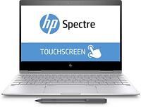 "New HP Spectre x360 2-in-1 13.3"" Touch-Screen Laptop i7-8550U 8GB RAM 256GB SSD"