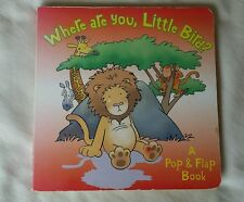 WHERE ARE YOU, LITTLE BIRD?  POP&FLAP BOOK TREEHOUSE