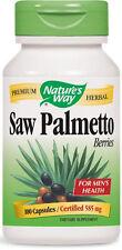 Saw Palmetto Berries - 100 Capsules - Nature's Way