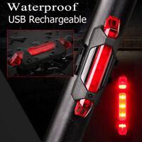 15 Lumens Feu Arrière Vélo Puissant Rouge Lampe Vélo LED Rechargeable USB