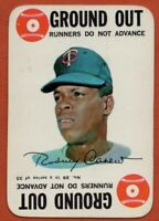 1968 Topps Game #29 Rod Carew VG-VGEX+ Marked Minnesota Twins Free Shipping