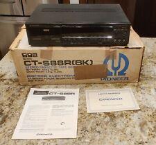 VTG PIONEER Stereo Cassette Tape Deck CT-S88R  Cassette Player w/ Box & Manual