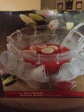 Bali 27 pc. Glass Punch Bowl Set