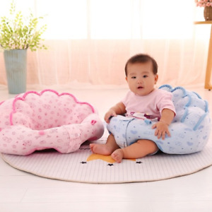 Sofa Plush Soft Cloud Shaped Baby Learning To Sit Keep Sitting Posture 0-2 Years