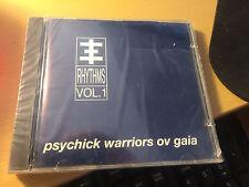 "Psychick Warriors Ov Gaia ""Rhythms Vol. 1"" cd SEALED Restless"