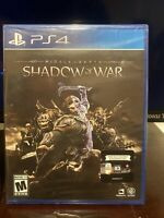 Middle-Earth: Shadow of War PS4 Brand New Sealed LOOSE DISC PlayStation 4