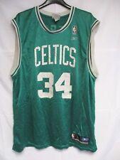 Maillot basket BOSTON CELTICS Paul PIERCE n°34 Reebok vintage NBA shirt L
