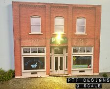 """ Drug Store "" O Scale Scratch Built Pharmacy Building Flat w/ LED Lionel MTH"