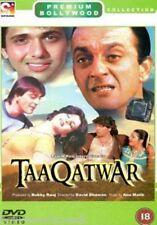 TAAQATWAR - SANJAY DUTT - GOVINDA - NEW BOLLYWOOD DVD - FREE UK POST