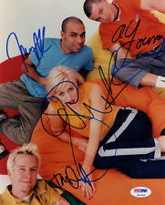 NO DOUBT GWEN STEFANI & DUMONT & KANAL & YOUNG GROUP SIGNED 8x10 PHOTO PSA/DNA