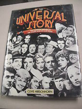 "1ST ED ""THE UNIVERSAL STORY"" BY HIRSCHHORN! HISTORY OF THE STUDIO W/1200 ILLUS!"