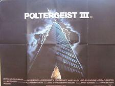 Tom Skerritt Nancy Allen POLTERGEIST III(1988)  Original movie poster
