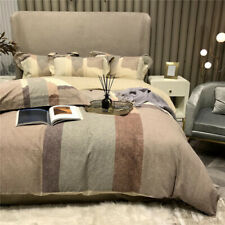 Simple autumn and winter printing bedding, pure cotton thickening to keep warm