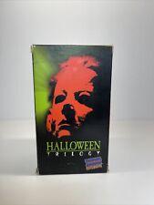 Halloween Trilogy (1,2,3) Blockbuster Exclusive VHS Boxset (1997) Michael Myers