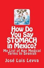 How Do You Say Stomach in Mexico? : My List of Key Medical Terms in Spanish: ...