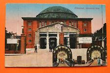 AK Hamburg 1923 Steinwärder Seite Tunnel Fahrbahnen Architektur Gebäude !!! +++