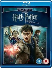 HARRY POTTER AND THE DEATHLY HALLOWS PART 2 YEAR SEVEN BLU RAY BRAND NEW SEALED