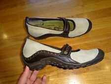 Women's Merrell Plaza Bandeau Taupe Dark Brown/Beige Shoes Size 10
