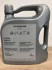 Original VW Audi Motoröl 5W30 LongLife 3 G 052195M 5 Liter G 052195M4