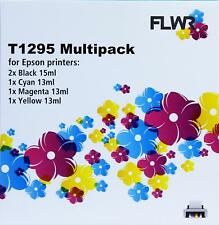 FLWR T1295 Multipack Black And Color Compatible Cartridge for FLWR Epson NON OEM