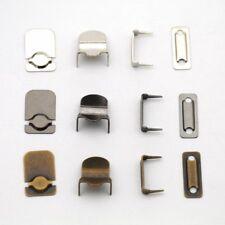 Agrafes pour pantalons (5 sets de 4 pieces) métal argent