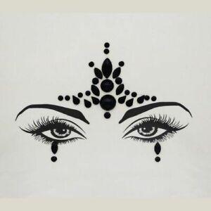 Jeweled Temporary Face Sticker - Body Art
