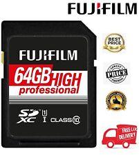 Fujifilm SDXC 64GB UHS-I Class10 Pro Memory Card FUJ1891 (UK Stock)