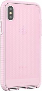 Tech21 iPhone X & iPhone XS Evo Mesh Impact Protection Case Pink T21-5937