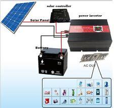 3000W DC 12V to AC 240V Modified Sine Wave Power Inverter  LCD Display