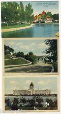 Ottawa Strathcona Park Wellesley Island Farm Ontario Regina SK Parliament 1920s