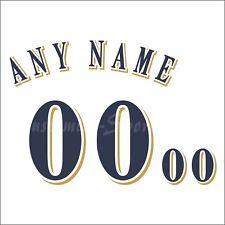 Béisbol Milwaukee Brewers Blanco Home Jersey número Personalizado Kit sin costura