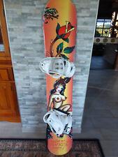 Snowboard mit Bindung 2x benutzt,  Länge ca.  152 cm