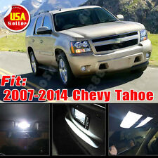 14 PCS Super White LED Lights Interior Package for 2007-2014 Chevy Tahoe 6000K
