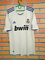 Real Madrid Jersey 2010/11 Home LARGE Shirt Men Football Camiseta Adidas P96163