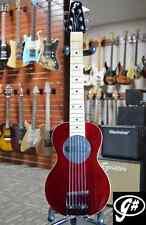 G-Sharp OF-1 Travel Guitar (Wine Red)