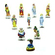 Fèves de collection en porcelaine _ LES FEES _ Série complète 10 Feves Mates