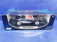 Motor Max - 1958 Corvette (Black) (1:18)