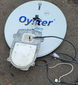 Oyster Vision motorhome caravan satellite tv aerial antenna spares or repairs