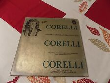 Corelli Twelve Concerti Grossi Opus #6 LP set