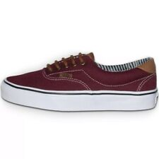0cb4dcf078c7 VANS ERA 59 ROYALE PURPLE BURGUNDY CANVAS SNEAKER SHOES WOMAN SIZE 9.5   MEN  8