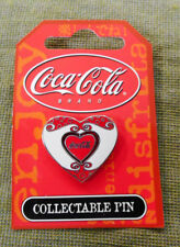 #T22.  TURNING HEART  COCA COLA COKE  COLLECTABLE PIN