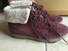 Topshop Suede Ankle Boots for Women